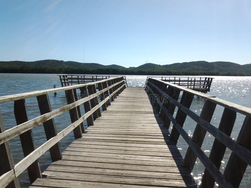 Lagoa de Boqueron imagens de stock