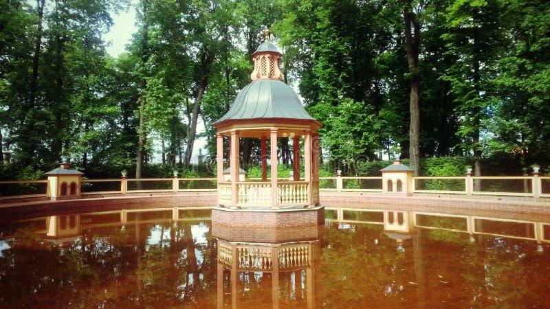 Lagoa de Bosquet Menazheriyny imagem de stock royalty free