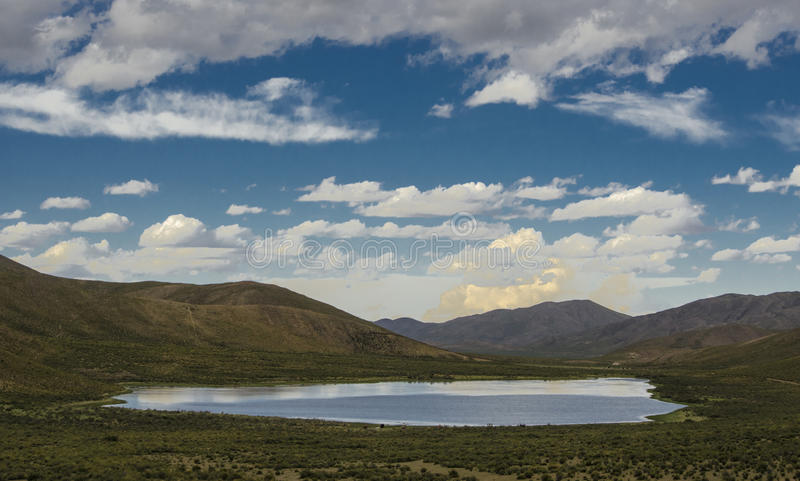 Lagoa de Puna foto de stock royalty free