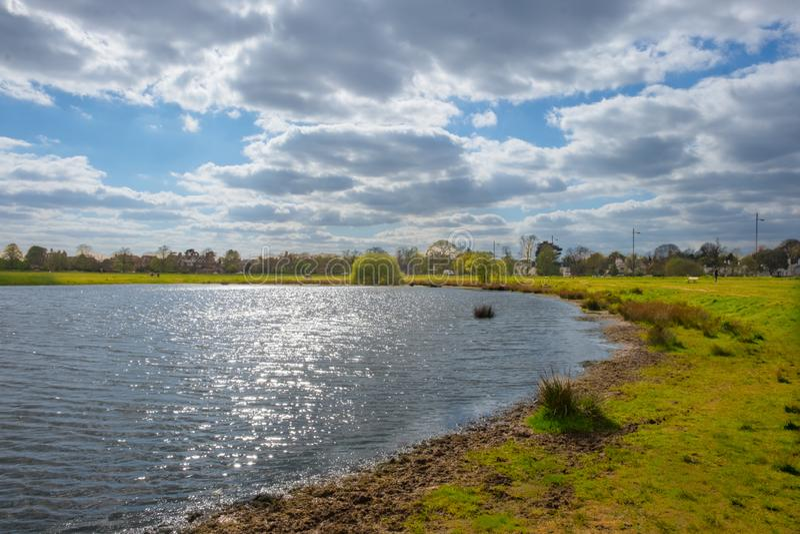 Lagoa de Rushmere fotos de stock royalty free