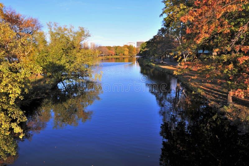 Lagoa de Storrow foto de stock