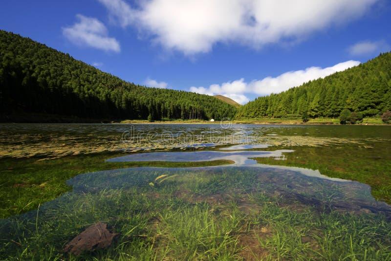 Lagoa Do Canario Royalty Free Stock Photo
