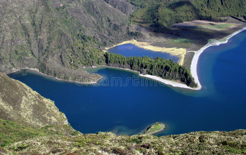 Download Lagoa do fogo, Azores stock photo. Image of acores, island - 23730498