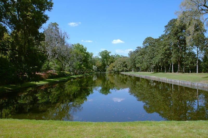 Lagoa do lugar de Middleton imagens de stock royalty free