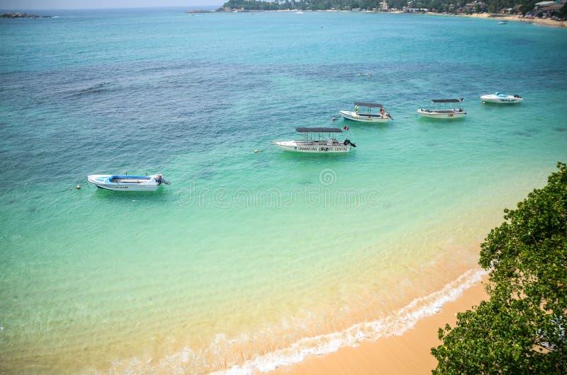 Lagoa do Oceano Índico imagens de stock royalty free