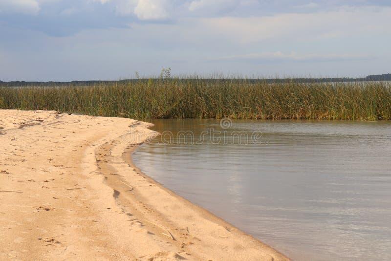 Lagoa DOS Patos i Brasilien arkivbild