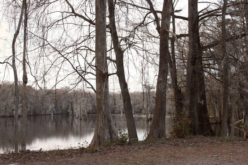 A lagoa em Bennett Mill imagem de stock