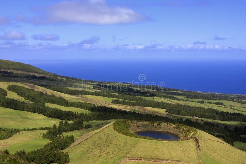 Lagoa gör Canario arkivfoton