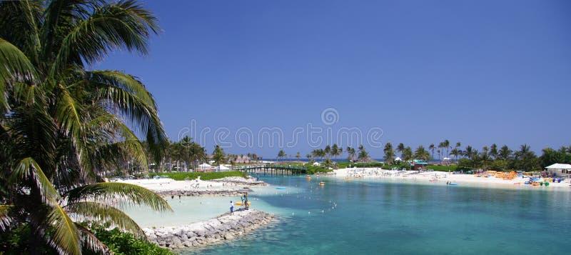 Lagoa tropical fotos de stock royalty free