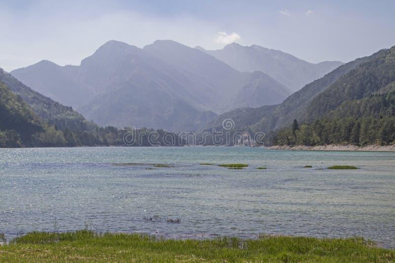Lagodei Tramonti in Friuli royalty-vrije stock afbeelding