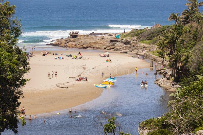 Lagoon Ocean Holidays stock photo
