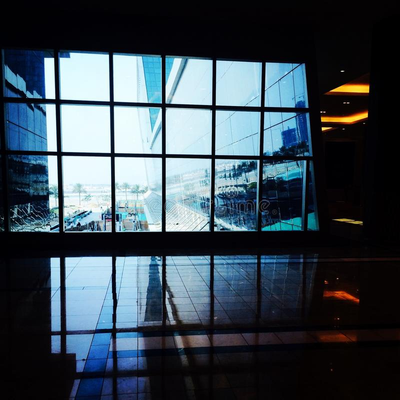 Lagoona-Mall lizenzfreies stockfoto