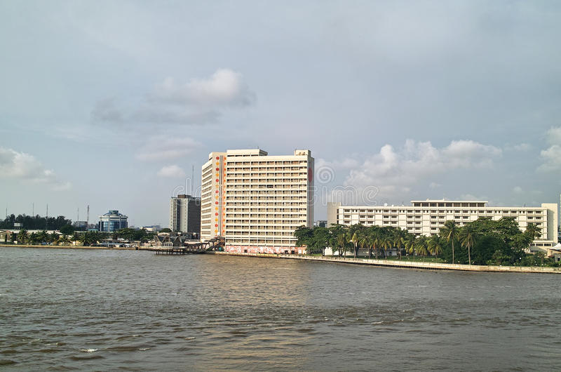 Lagos image libre de droits