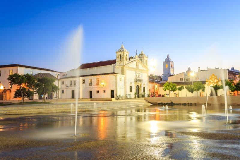 Download Lagos Centrum, Algarve, Portugal Arkivfoto - Bild av landmark, kapell: 78725756