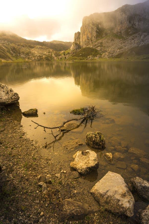 Lagos de Covadonga imágenes de archivo libres de regalías