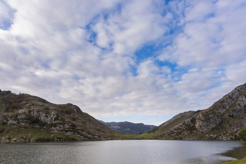 Lagos de Covadonga imagen de archivo