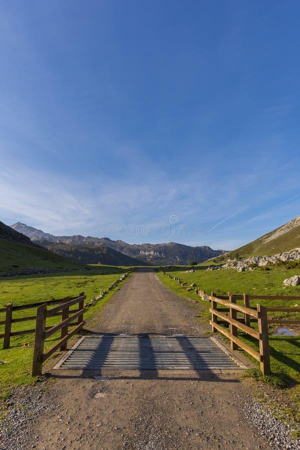 Lagos de Covadonga fotografía de archivo libre de regalías