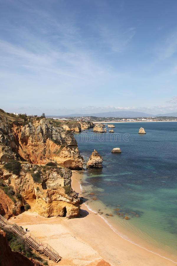 Download Lagos Portugal stock photo. Image of lagos, summer, scenic - 28084028