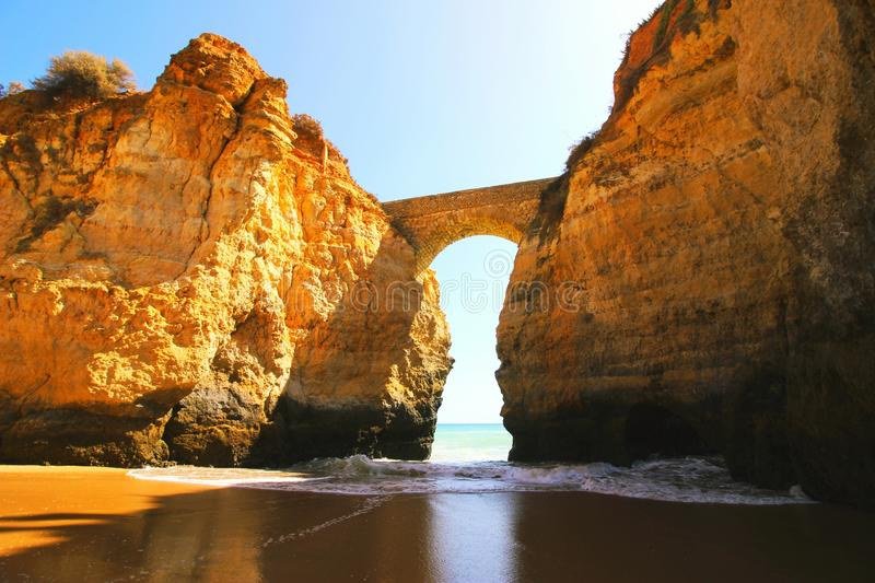 Lagos, Portugal stock photo