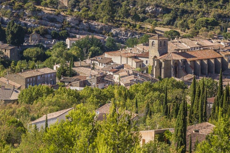 Lagrasse, France fotografia de stock royalty free