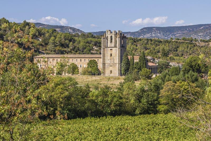 Lagrasse, France imagem de stock royalty free