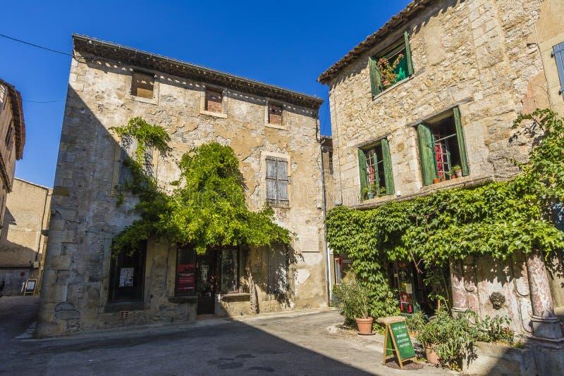 Lagrasse, France fotos de stock royalty free