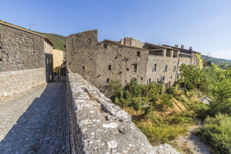 Lagrasse, Francia fotos de archivo