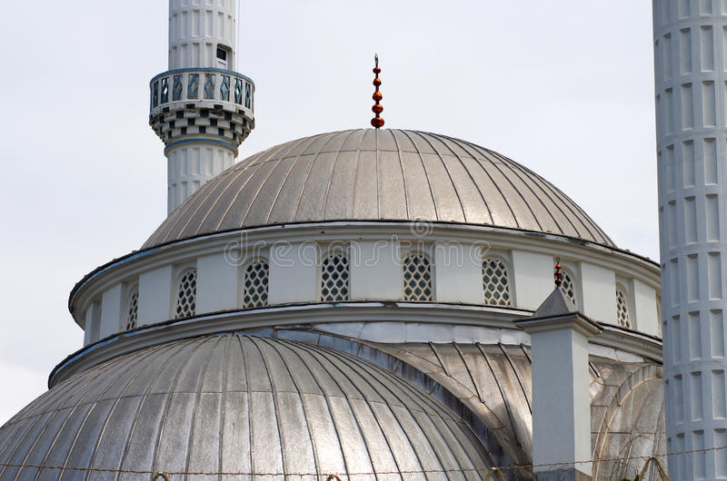 What Is A Mosque Detail: Large Mosque (detail), Turkey Stock Photo