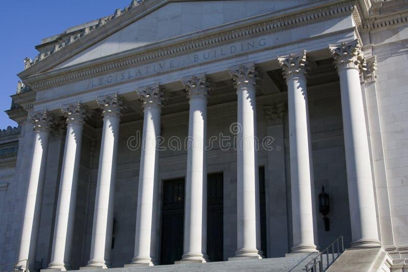 lagstiftnings- byggande arkivbild