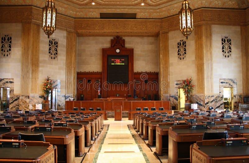 lagstiftnings- kammare arkivbild