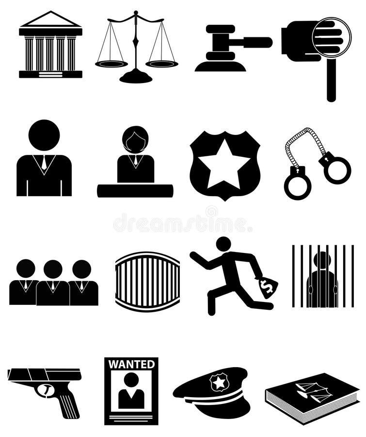 Lagsymbolsuppsättning royaltyfri illustrationer