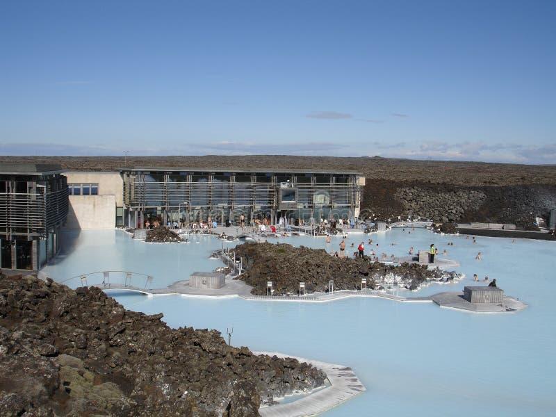 lagun för 2 blue arkivfoto