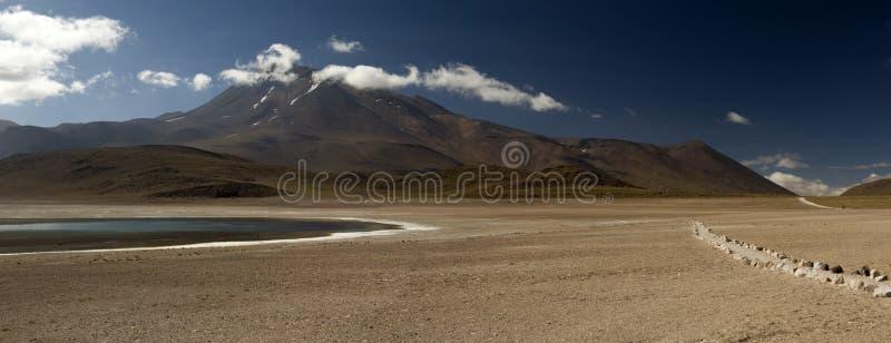 Laguna Altiplanica images stock