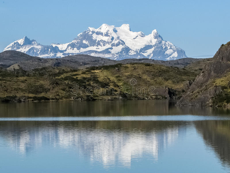 Laguna Amarga, Torres del Paine royalty-vrije stock afbeelding