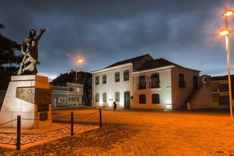 Laguna Anita Garibaldi Santa Catarina Brazylia obraz stock