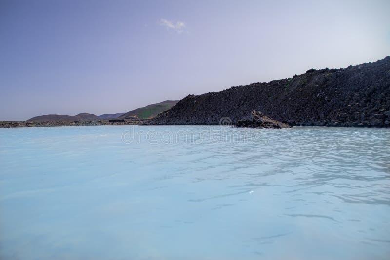 Laguna azul astuto y azul imágenes de archivo libres de regalías