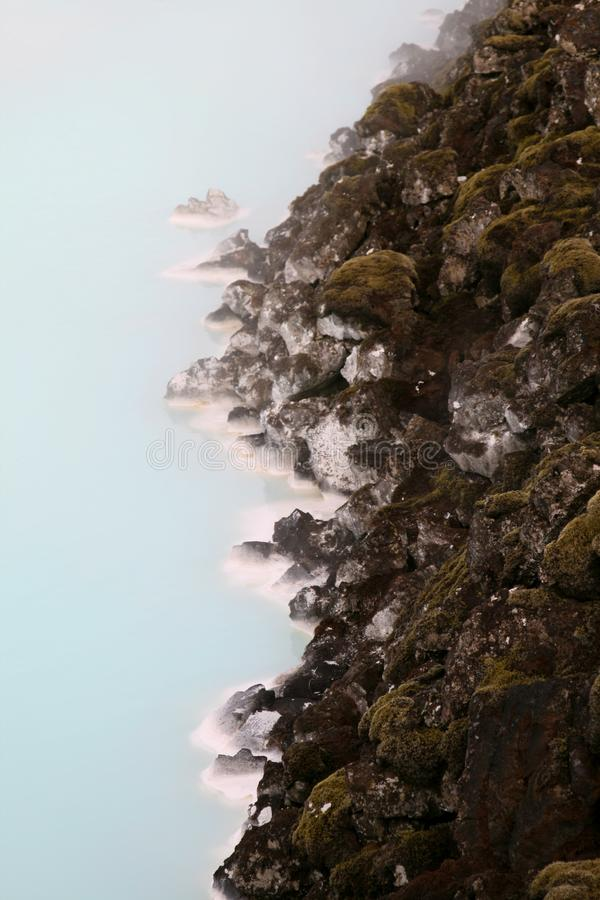Laguna azul imagen de archivo libre de regalías