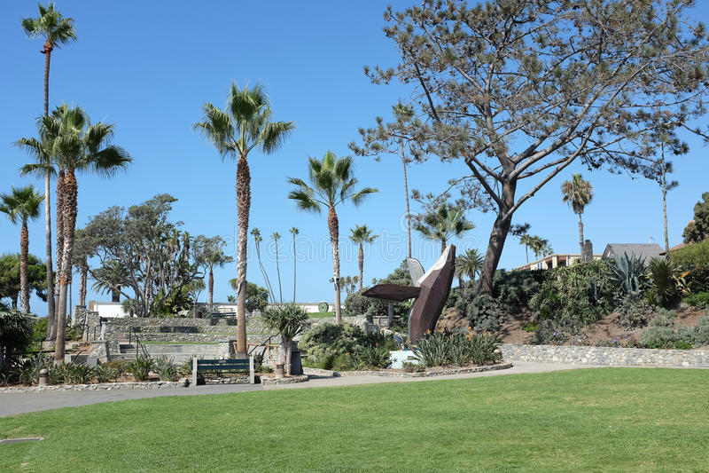 Laguna Beach del parque de Heisler foto de archivo libre de regalías