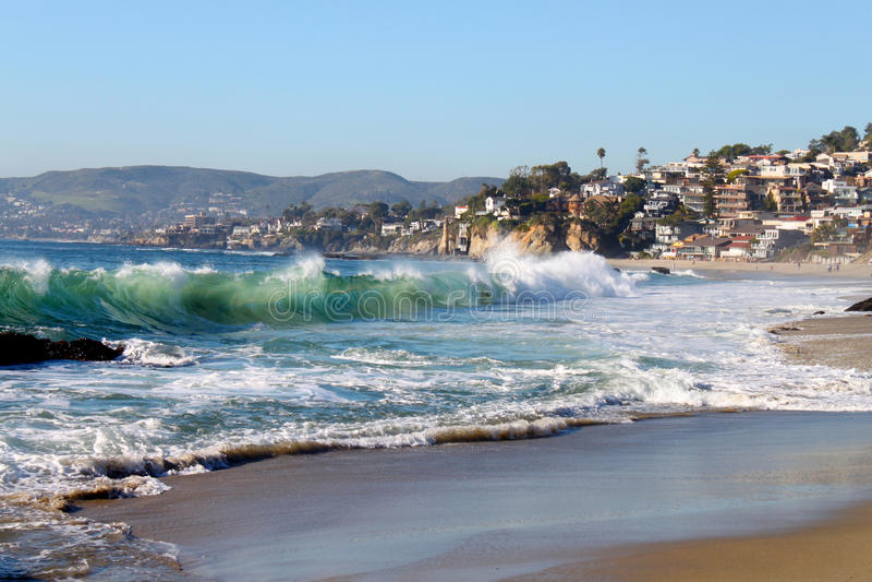 Laguna Beach-Küstenlinie lizenzfreies stockbild