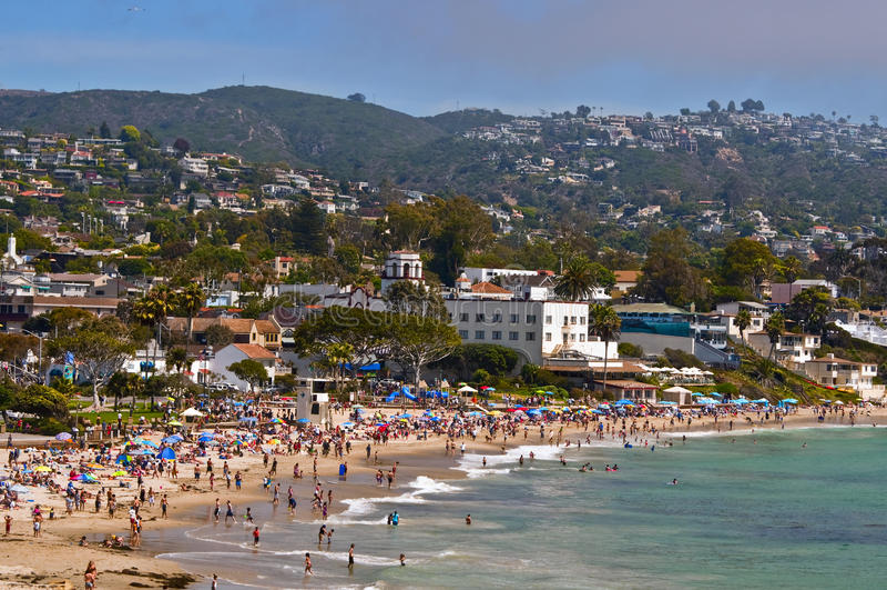 Laguna Beach, la Californie photo stock