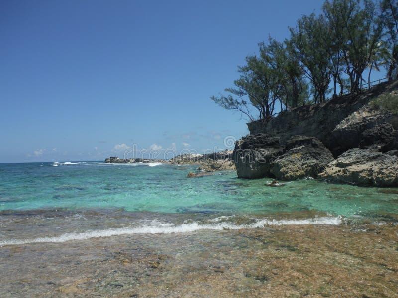 Laguna blu fotografia stock libera da diritti