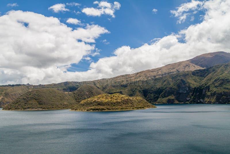 Laguna Cuicocha, Ecuador royalty free stock photography