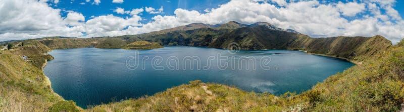 Laguna Cuicocha, Equateur photo stock