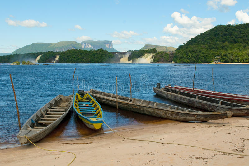 Laguna de Canaima, Venezuela fotos de archivo libres de regalías