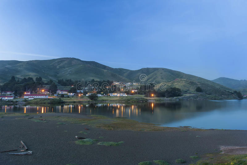 Laguna de la playa del rodeo imágenes de archivo libres de regalías