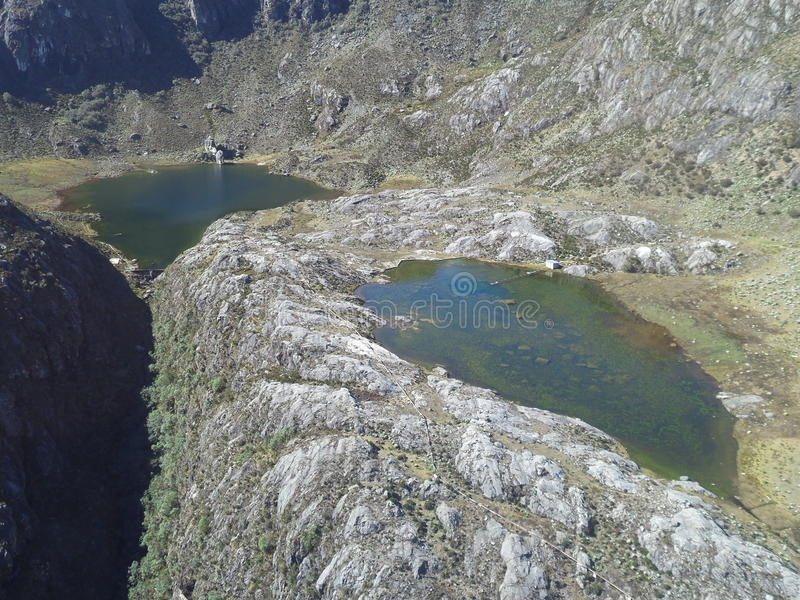 ` Laguna De Los Anteojos ` zdjęcie stock