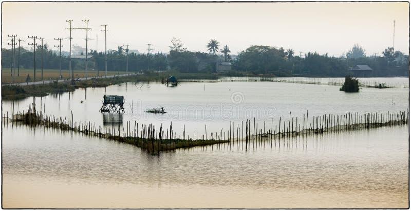 Laguna de Thanh Lam imagen de archivo