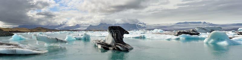 Laguna del ghiacciaio fotografia stock libera da diritti