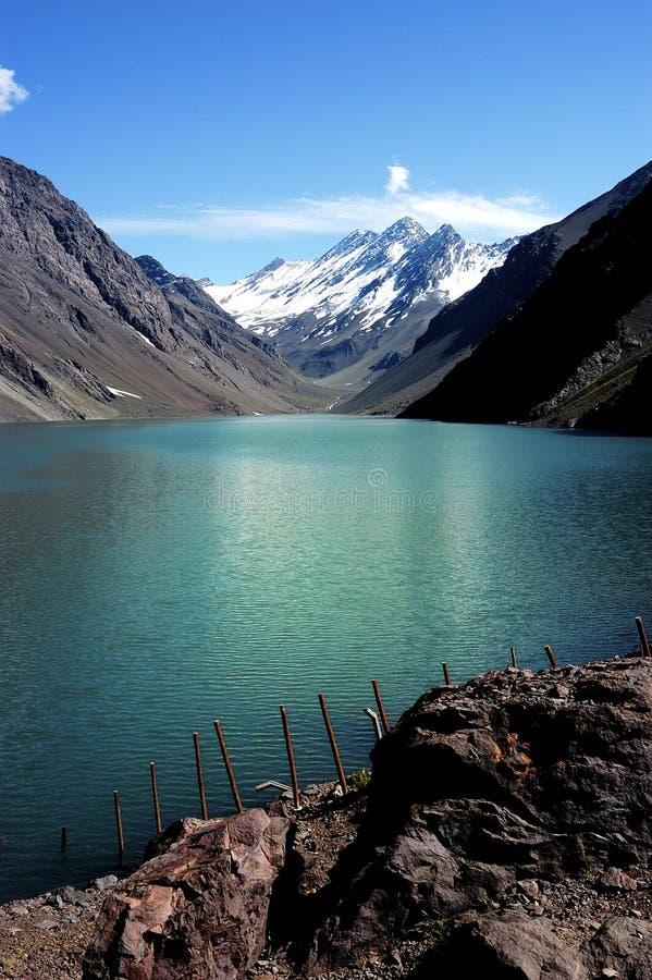 Laguna del inca, Chile fotos de archivo libres de regalías