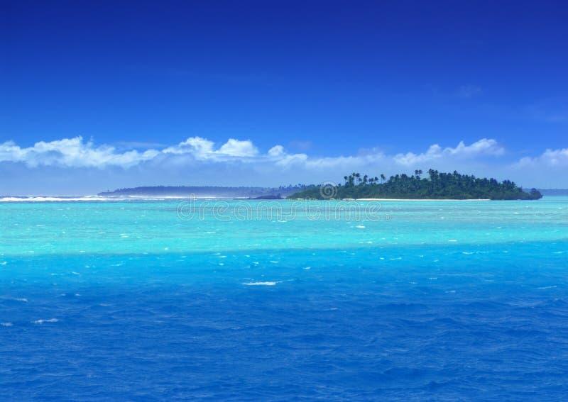 Laguna del paraíso foto de archivo libre de regalías